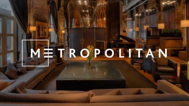 Award-Winning Metropolitan Bar Chooses SGL