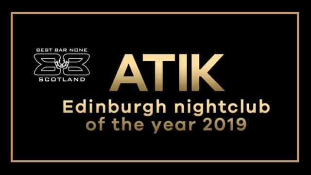 SGL Client Atik Wins Best Bar None Award
