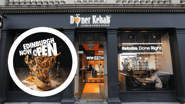 New Site with Gourmet Doner Kebab Chain